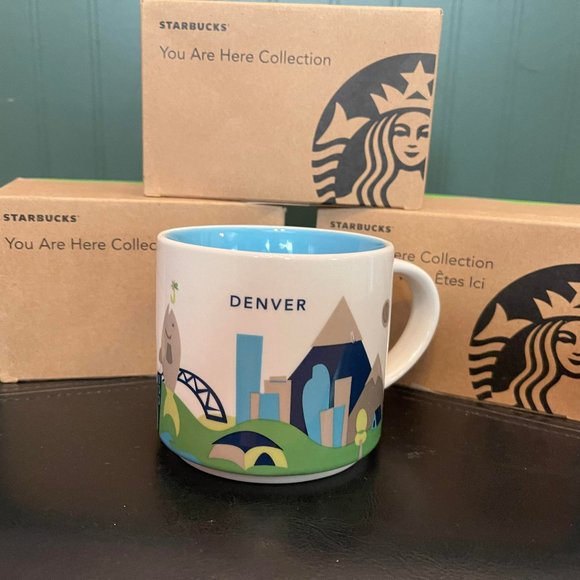 """Starbucks """"You are here collection"""" DENVER"""